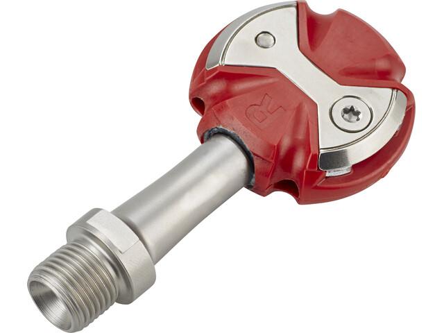 Speedplay Zero Pedals Stainless steel red